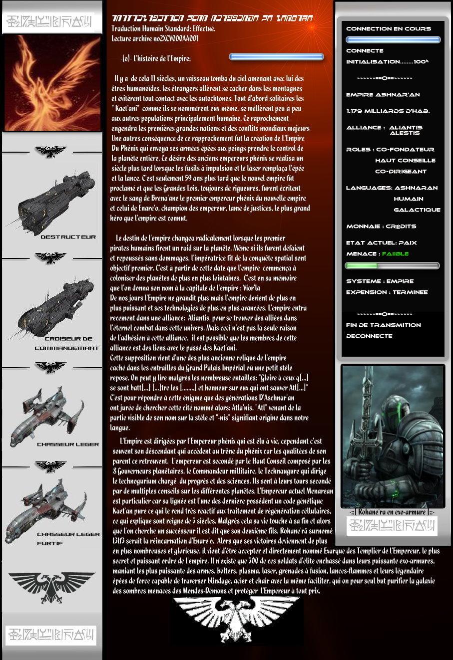 Empire Ashnar'an |[L3lf3]| PageAllyR