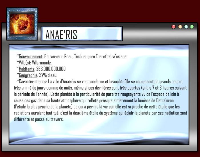 Empire Ashnar'an |[L3lf3]| Anaeris